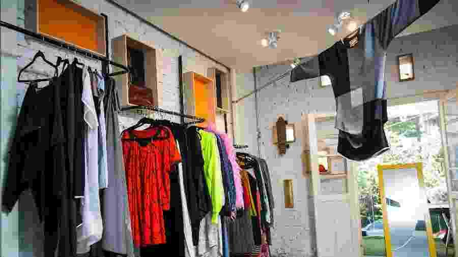 A House of Bubbles, que trabalha com locação de roupas e acessórios - Bruno Santos/UOL