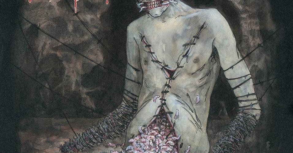 """Capa de """"Vile"""", do Cannibal Corpse"""