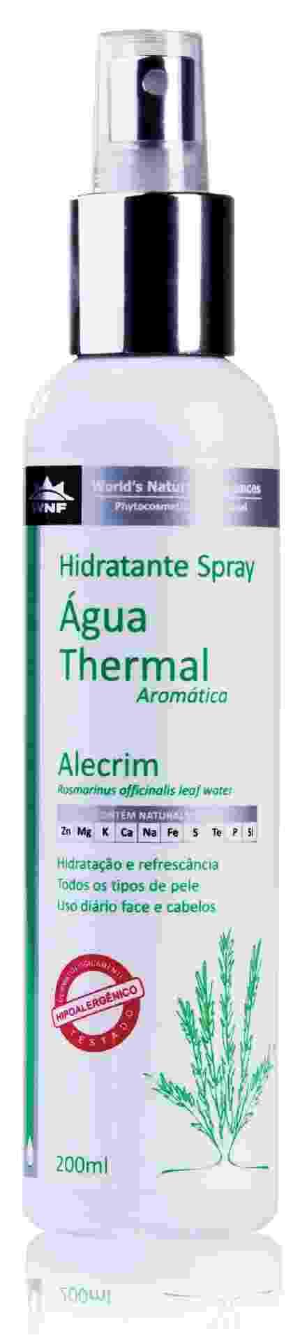 Água termal aromática Alecrim 200 ml, R$ 27, WNF, (11) 3060-8816 - Divulgação