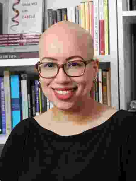 Beatriz Santos perdeu os primeiros fios aos 16 anos - Arquivo pessoal