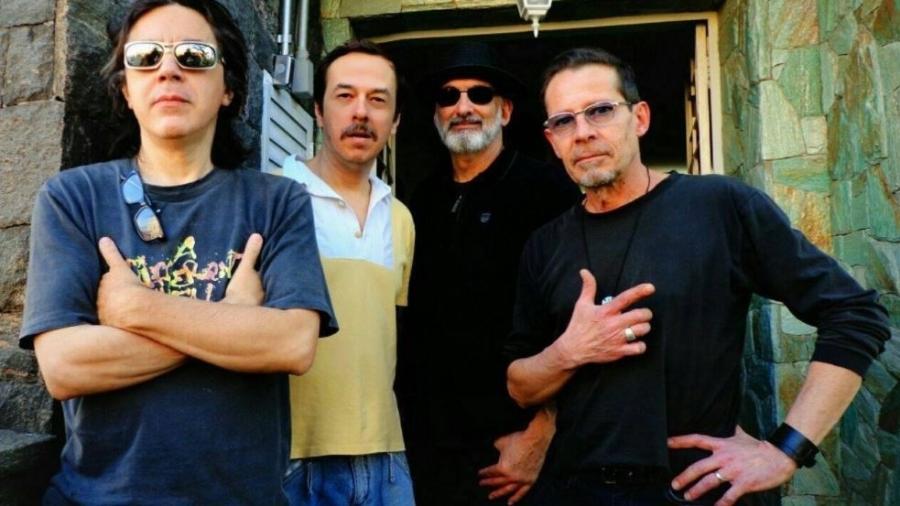 Formação original da banda Gueto: Edson X, JC, Marcola e Marcio Hermes - Divulgação