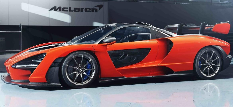 McLaren Senna: supercarro tem 800 cv e pesa apenas 1.198 kg, relação de apenas 1,5 kg/cv - Divulgação
