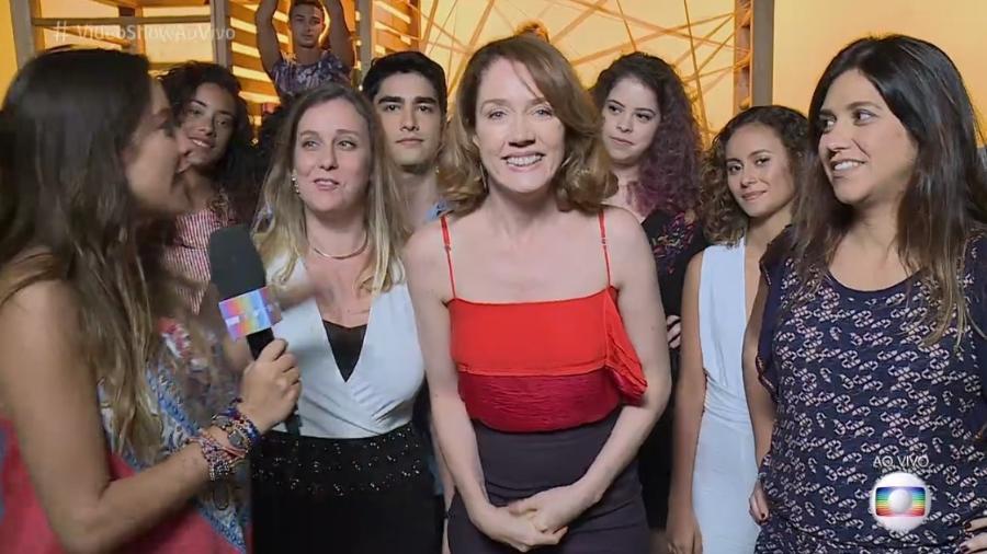 """Camila morgado falou ao """"Vídeo Show"""" nesta segunda-feira (18) - Reprodução/Globo"""