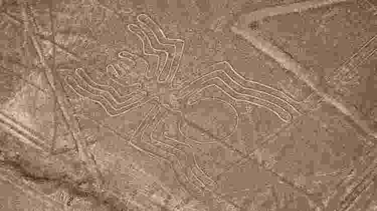 Linhas de Nazca, no Peru - Getty Images/iStockphoto - Getty Images/iStockphoto