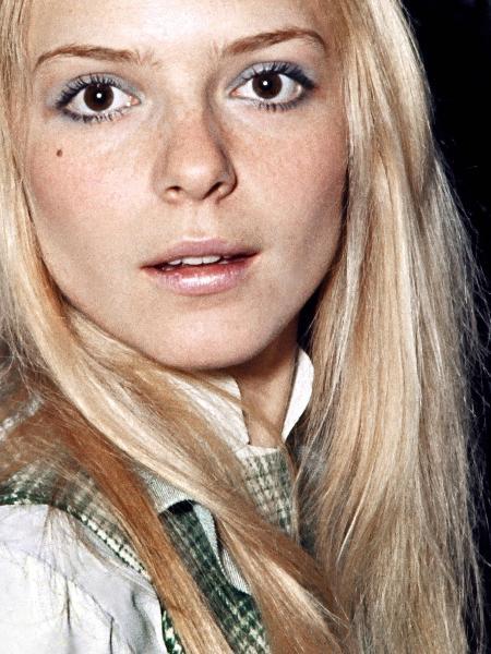 A cantora francesa France Gall em 1969 - AFP