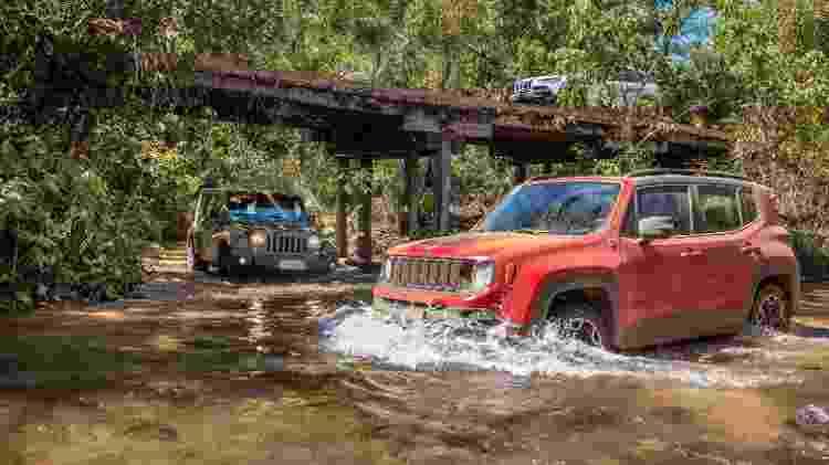 Jeep Renegade no off-road - Divulgação - Divulgação