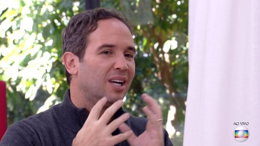 """Caio Ribeiro no """"Mais Você"""" - Reprodução/Globo"""