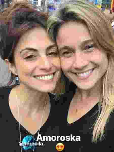 Fernanda Gentil e Priscila Montadon estão juntas desde 2016 - Instagram