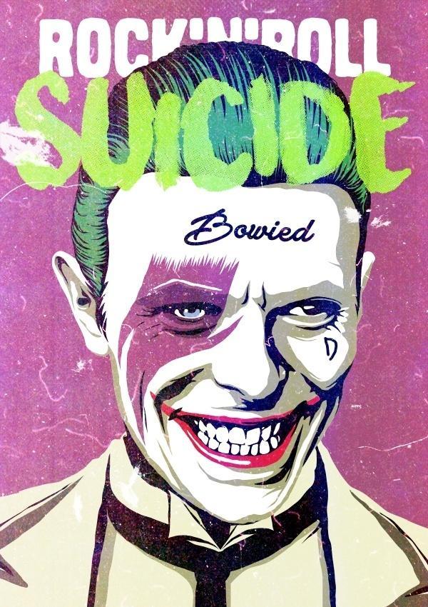 Um dos trabalhos marcantes de Butcher Billy, e que exemplifica seu estilo, foi passar um mês misturando referências de David Bowie, seu ídolo, com personagens da cultura pop