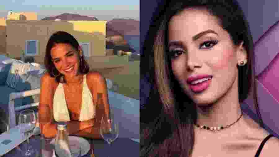 """O jornalista Leo Dias explica no programa """"Sensacional"""" de onde vem a suposta rivalidade entre Bruna Marquezine e Anitta - Reprodução/Instagram"""