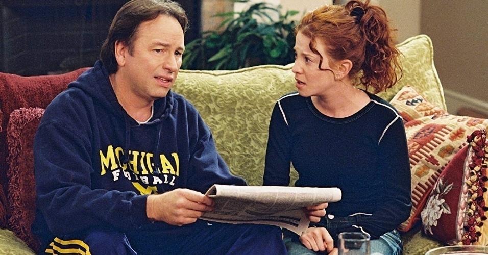 """John Ritter e Amy Davidson em cena em """"8 Regrinhas Básicas Para Namorar Minhas Filhas Adolescentes"""""""