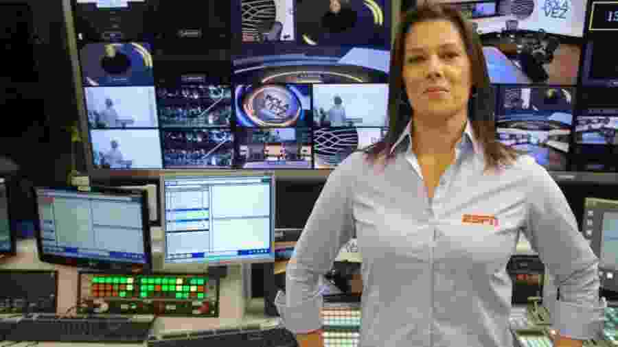 Luciana Mariano, primeira narradora de futebol da TV brasileira, da ESPN - Divulgação/ESPN