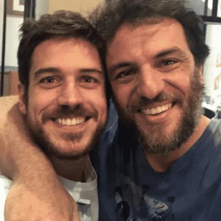 Marco Pigossi e Rodrigo Lombardi - Reprodução/Instagram