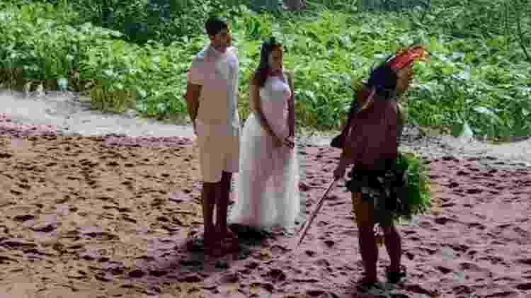 """A série da Netflix """"Vai Anitta""""conta a história do namoro ao casamento de Anitta e Thiago Magalhães - Reprodução/Netflix - Reprodução/Netflix"""