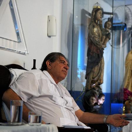 O médiu João de Deus, acusado de abuso sexual por dezenas de mulheres  - AFP