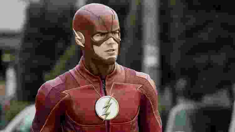 """Grant Gustin como o protagonista de """"The Flash"""" - Divulgação - Divulgação"""