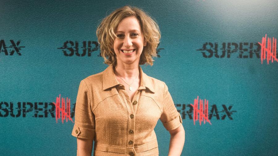Fabiana Gugli, filha no teatro e no papel da própria Marília Gabriela na TV - Renato Rocha Miranda/TV Globo