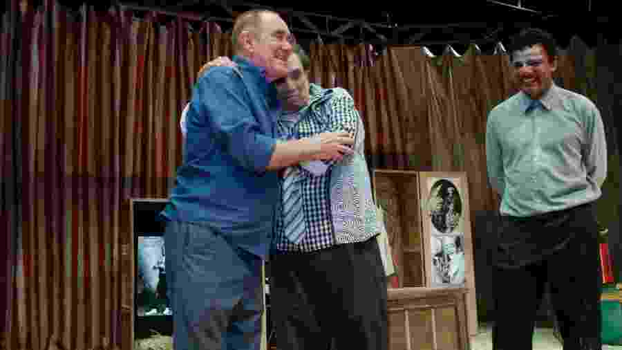 Renato Aragão prestigia Dedé Santana em peça - Marcos Ferreira/Brazil News