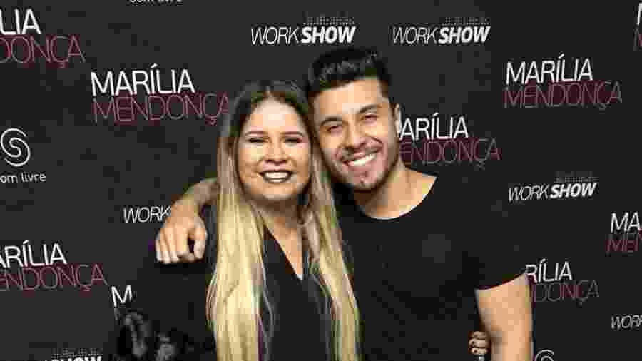 Murilo Huff e Marilia Mendonça posam juntos em 2017 - Reprodução/Instagram