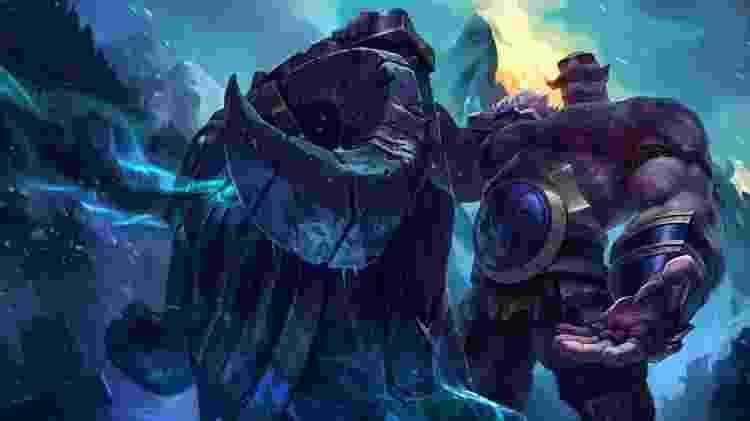 League of Legends - Braum - Reprodução - Reprodução