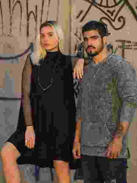 """Monica Iozzi e Caio Castro de """"A Dona do Pedaço"""" - Estevam Avellar/TV Globo"""
