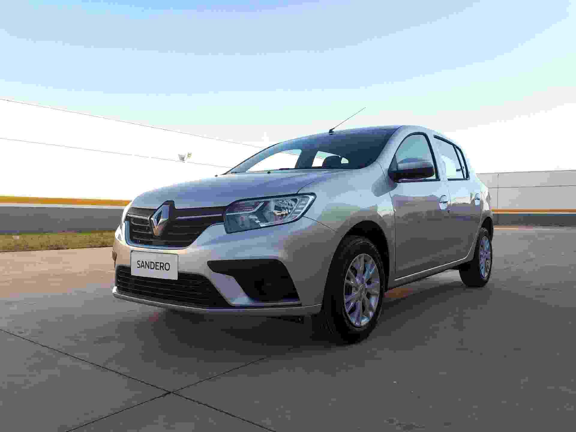 Renault Sandero Zen 1.0 2020 - Vitor Matsubara/UOL