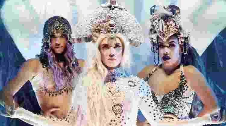 """Pabllo Vittar, Aretuza Lovi e Gloria Groove, a """"santíssima trindade"""" das cantoras drag queens - Reprodução/Instagram"""
