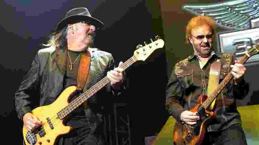 Larry Junstrom (esquerda) e Don Barnes, do .38 Special - Getty Images