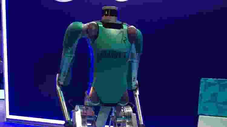 Robô inteligente Digit apresentado pela Ford - Daniel Neves/UOL - Daniel Neves/UOL