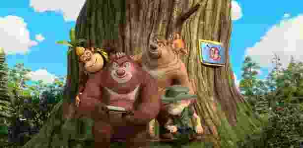 """Os personagens de """"As Aventuras de Bonnie Bears"""", que estreia no canal Discovery Kids dia 20 - Discovery Kids"""