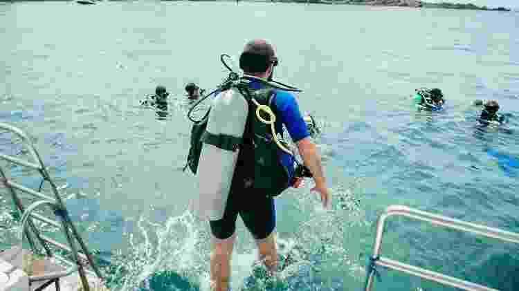 Mergulho em naufrágios, em Salvador - Gee Galvão