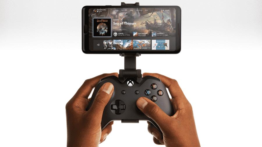 O recurso, totalmente gratuito, permite que o usuário jogue títulos do Xbox One em seu smartphone ou tablet Android - Divulgação/Xbox