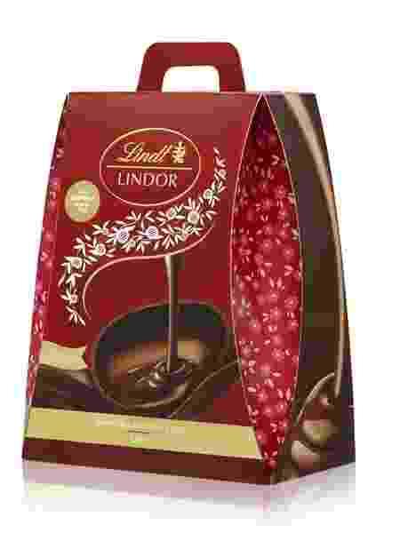 Ovo Lindor Double Layer, com chocolate ao leite com recheio de ganache de chocolate ao leite - Divulgação - Divulgação