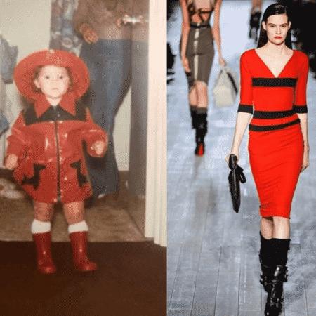 Victoria Beckham relembra look da infância e compara com modelito da sua marca - Reprodução/Instagram