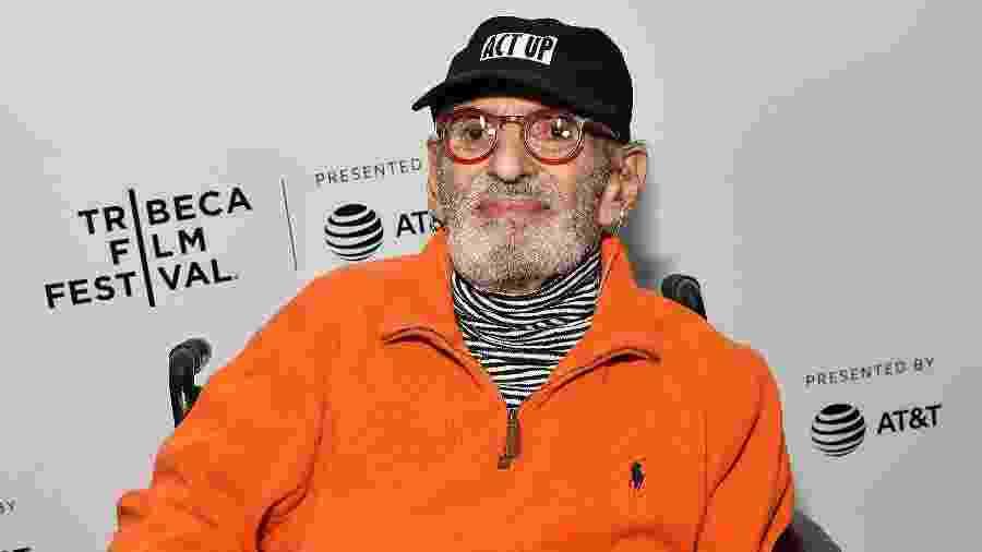 04.05.2019 - Larry Kramer em evento no Festival de Tribeca, em Nova York (EUA) - Slaven Vlasic/Getty Images for Tribeca Film Festival