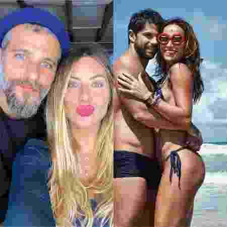 Bruno Gagliasso, Giovanna Ewbank, Sabrina Sato e Duda Nagle - Reprodução / Instagram