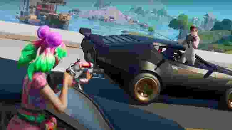 Carro Fortnite - Divulgação/EpicGames - Divulgação/EpicGames
