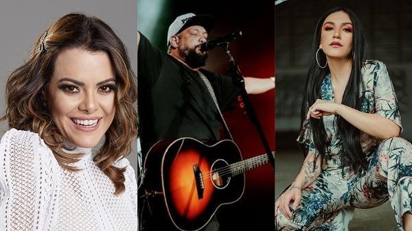 Ana Paula Valadão, líder do Diante do Trono, Fernandinho e Priscila Alcantara são alguns dos artistas do gênero gospel mais ouvidos na pandemia