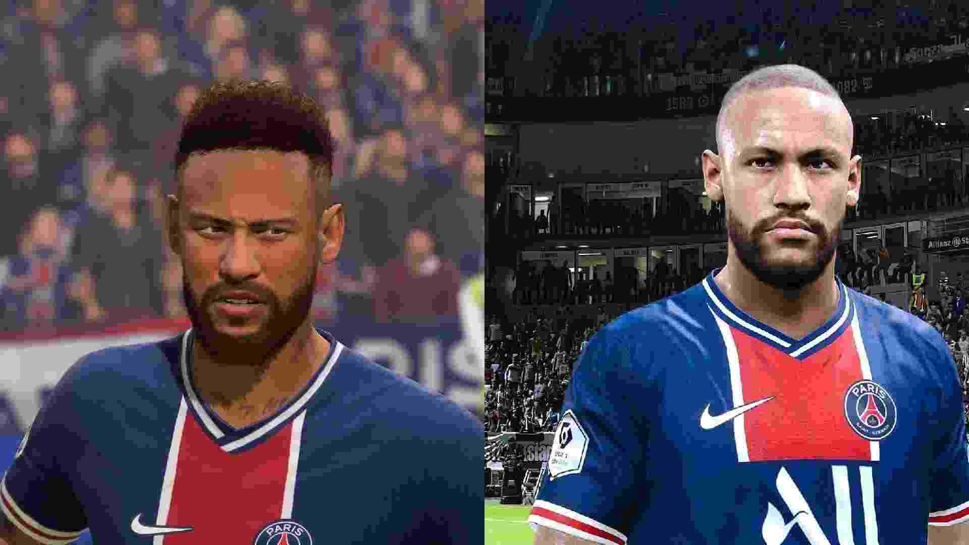 Neymar FIFA 21 PES 2021 - Reprodução/START