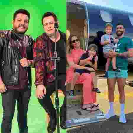 Bruno e Marrone comentam sobre separação de Gusttavo Lima e Andressa Suita - Reprodução / Instagram