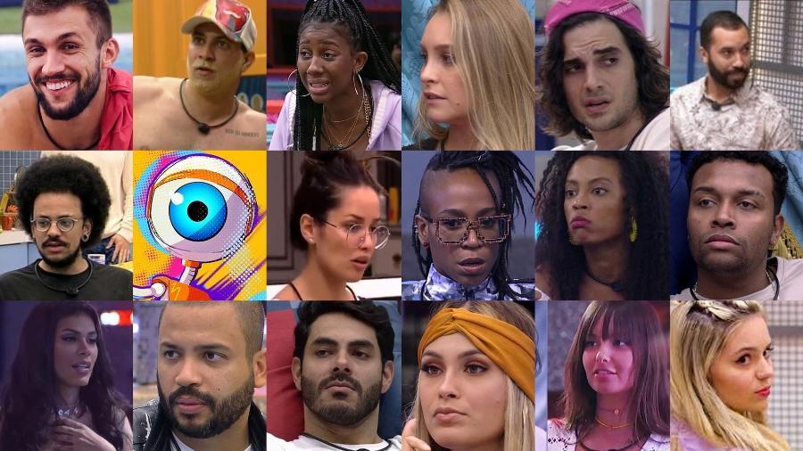 BBB 21: Quem é o mais odiado do reality? - Reprodução/Globoplay