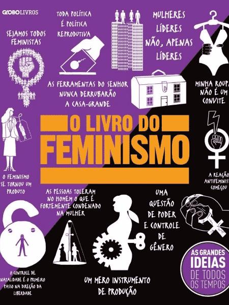 O livro do feminismo, vários autores - Divulgação/Amazon - Divulgação/Amazon
