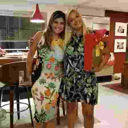 Taynara Castro e a irmã Juliane Felício - Arquivo pessoal - Arquivo pessoal
