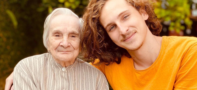 A avó Cida: inspiração para a família de cozinheiros, como o neto Rafael - Rafael Camargo Witzel