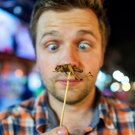"Para algumas culturas, o consumo de insetos pode ser considerado ""exótico"" - iStock"
