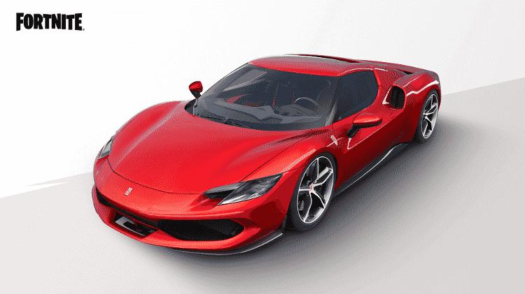 Fortnite Ferrari - Divulgação/EpicGames - Divulgação/EpicGames