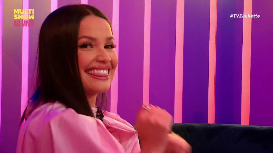 Juliette faz sua estreia no TVZ, do Multishow - Reprodução/Multishow