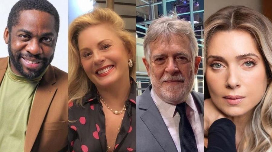 Lázaro Ramos, Vera Fischer, José de Abreu e Letícia Spiller são alguns dos nomes que deixaram a TV Globo nos últimos meses - Reprodução / Instagram