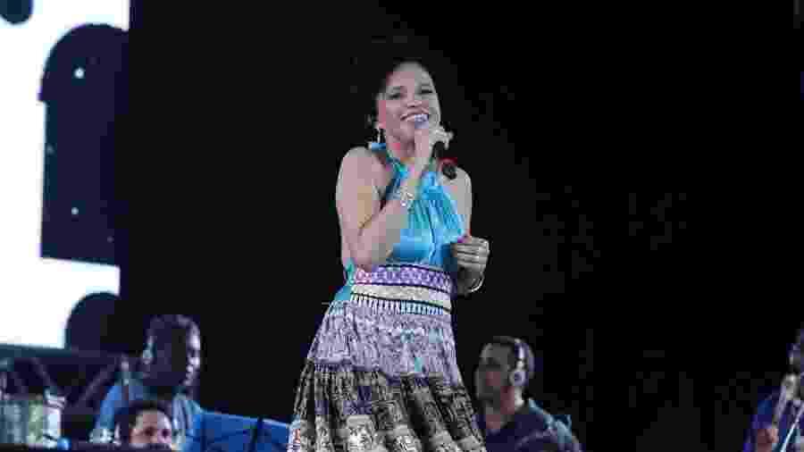 Vascaína, a cantora Teresa Cristina não curtiu a forma como foi convidada pelo presidente do Vasco - Marcello Sá Barretto/AgNews