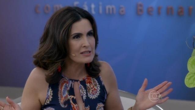 Fátima Bernardes participa da novela
